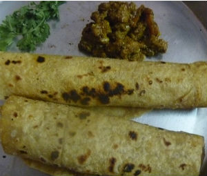 How Make Delicious Chappathi Mutton Roll