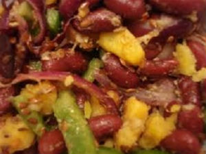 Potato Kidney Bean Salad Recipe