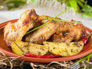 Lemon Cumin Roasted Chicken