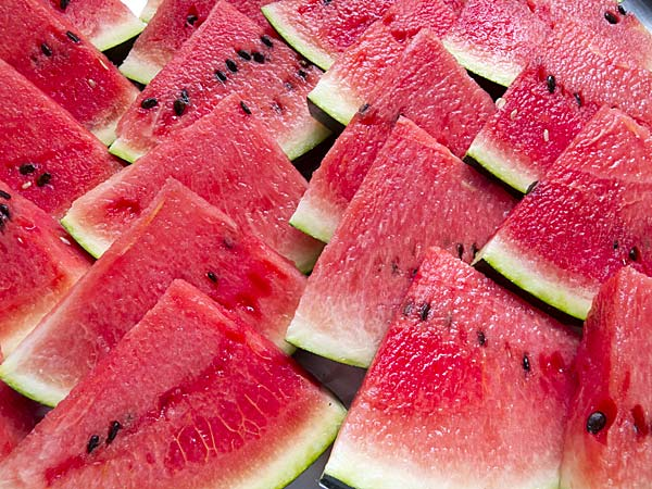 skin benefits juicy red watermelon
