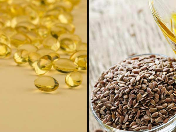 for Flaxseed vs fish oil