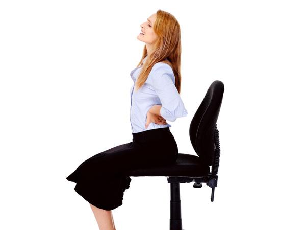 struggling with postnatal back pain