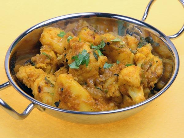 gujarati aloo subzi spicy delight