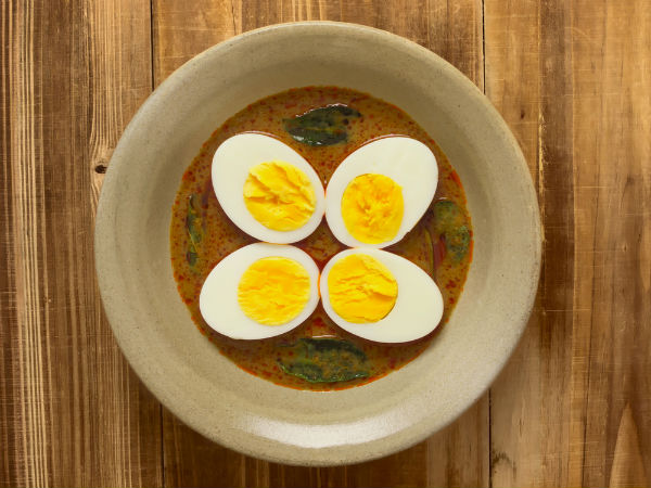 Egg Curry With Mint Recipe