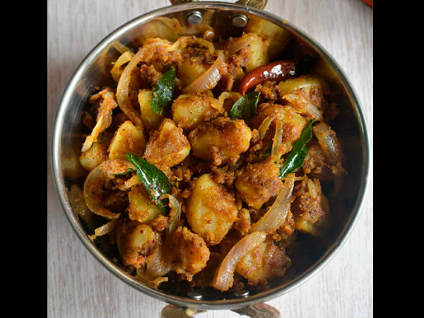Chettinad Potato Varuval