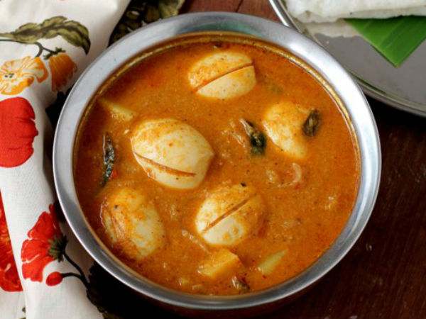 Mangalorean Egg Curry Recipe