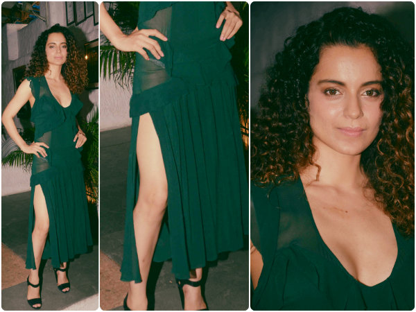 Kangana Ranaut Wows In See Through Dress
