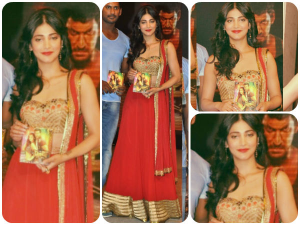 Back To Back: Shruti Haasan Gets Traditional