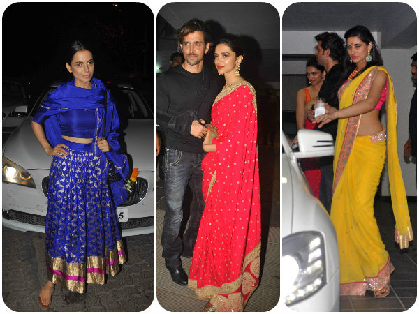 Aamir Khan diwali bash was a ramp show with all the Bollywood celebrities who attended in style. Here are some of them who will surely impress you.
