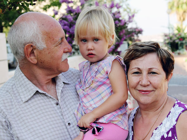 Grandparents Helping Grandchildren In Times of Stress