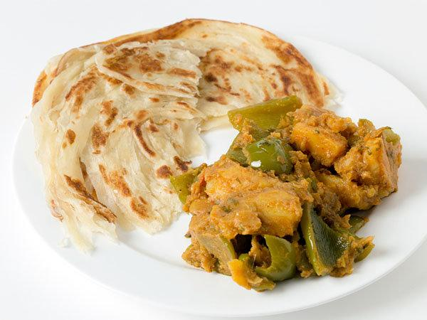 Delicious Aloo Capsicum Curry