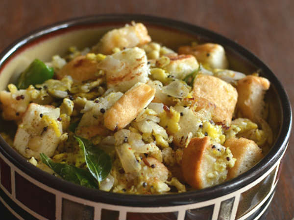 Bread Egg Upma
