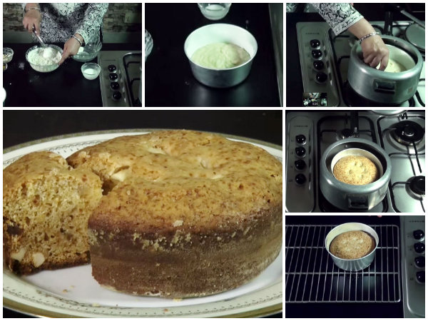 Eggless Cake Recipe Without Oven In Tamil