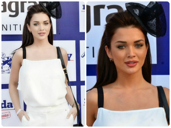 Actress Amy Jackson At Mid-Day Trophy 2015