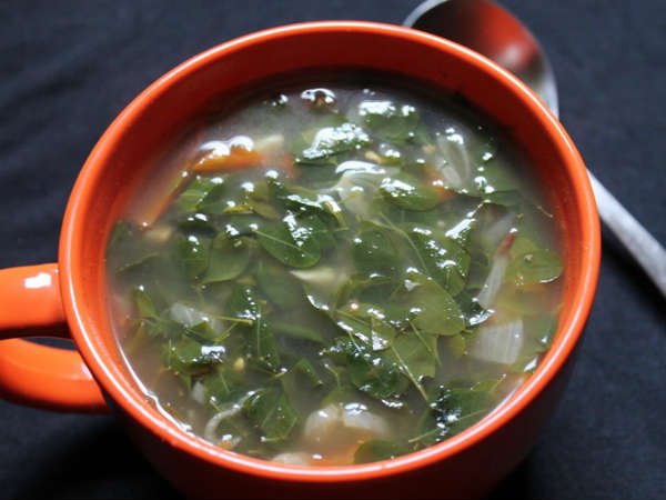 Healthy Drumstick Leaves Soup