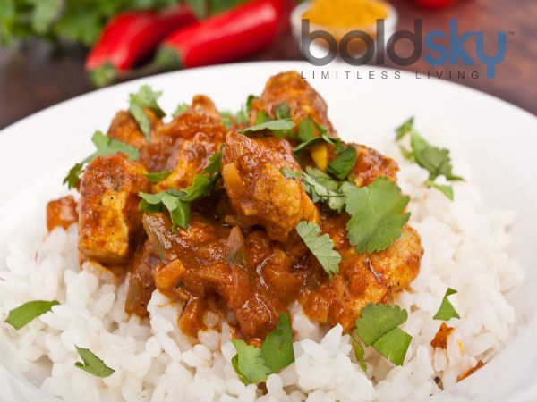 20 Minute Chicken Curry Recipe