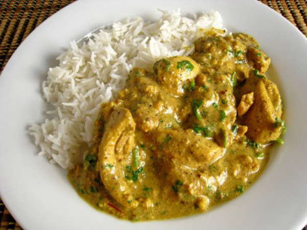Chettinad Cashew Chicken Gravy