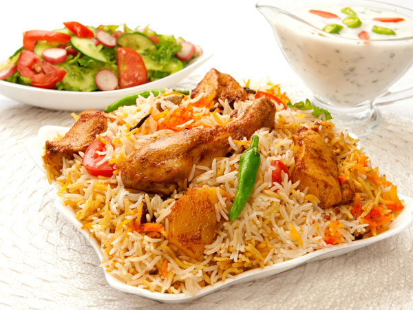 Afghani Chicken Pulao Recipe