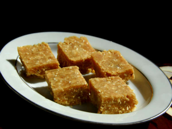 Easy To Cook Cocoa Coconut Barfi