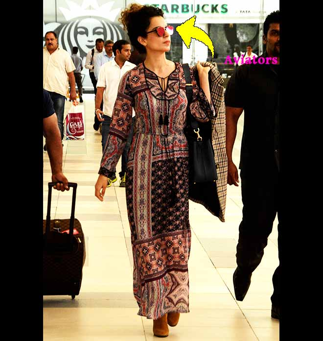Kangana Ranaut's Travel-Vogue