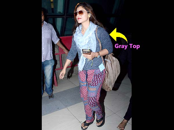 Travel Looks: Kajol In Casuals While She Returned From Dilwale Shoot