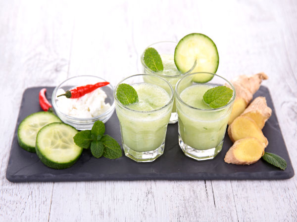 Natural drinks to detox and reduce body weight
