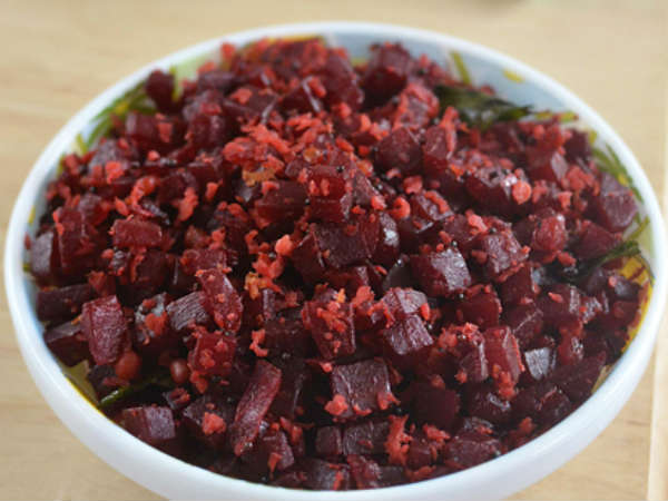Beetroot Poriyal Recipe