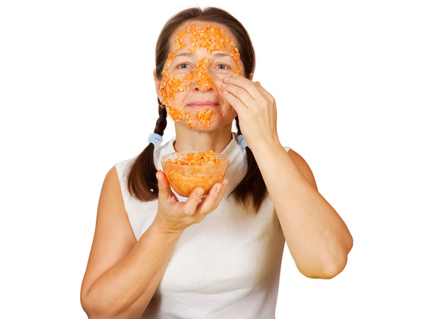 papaya pack for a glowing skin