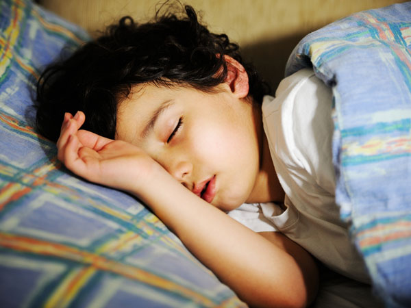 early bed time may prevent obesity for children