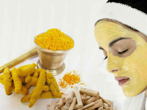 Homemade Turmeric facial Mask for Bright Face