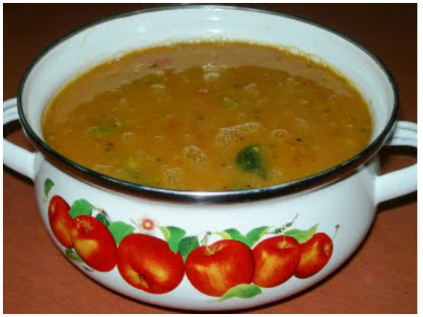 Easy Tomato Sambar Recipe