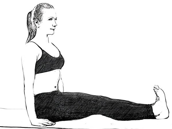 Ananthasana to reduce Hip and Thigh Weight