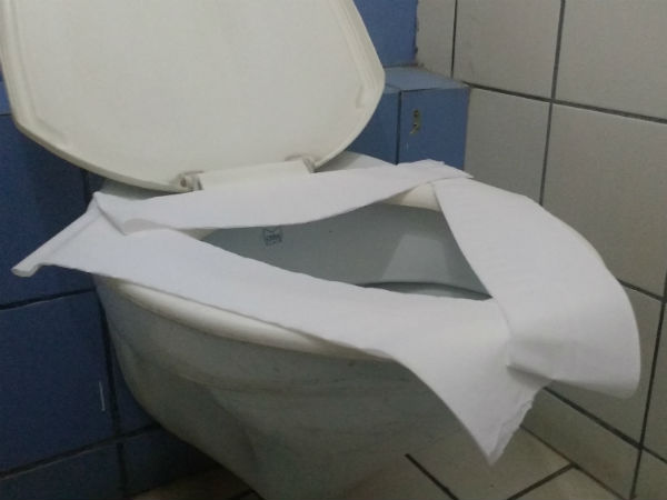 This Is Why You Should Never Put Toilet Roll On The Seat