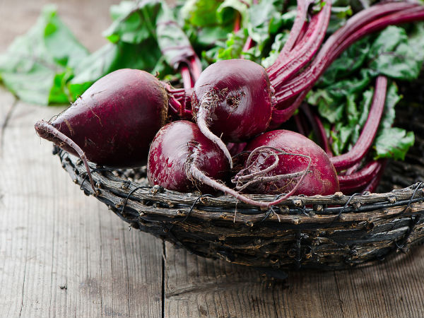 Amazing beetroot facial mask for blemishing skin