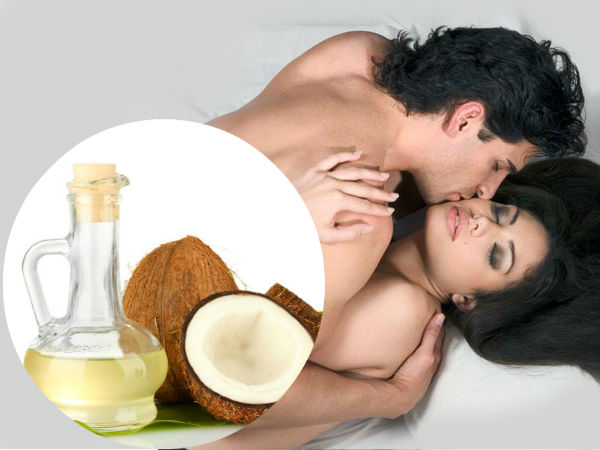 is coconut oil ok for sex