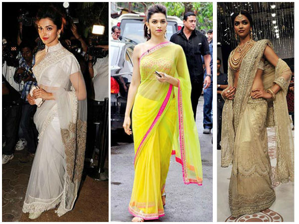 Deepika Padukone Sarees That Every Bride-to-be Needs In Her Closet