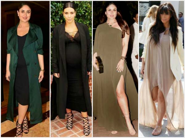 Is Kim Kardashian The Inspiration Behind Kareena's Flawless Maternity Outfits?