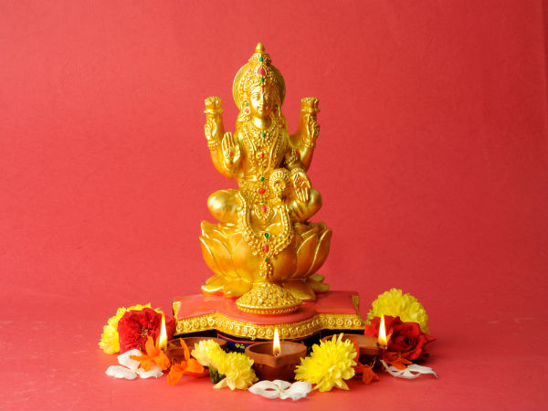 The Lakshmi Puja Vidhi For Diwali