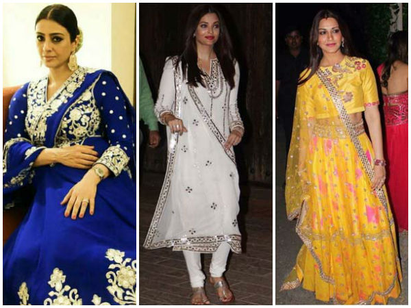 Diwali Fashion Highlights: Your Favourite Bollywood Faces In Diwali Lookbooks