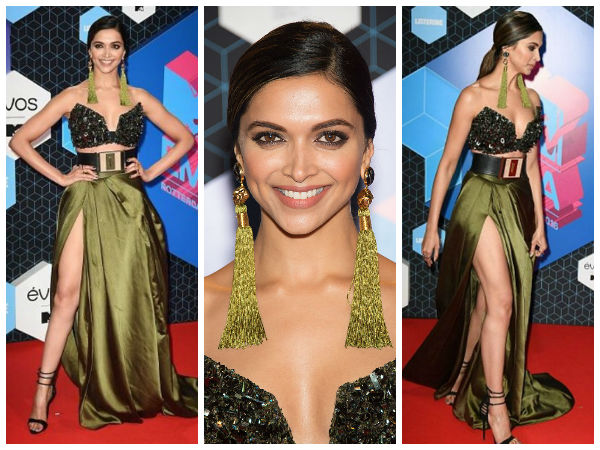 Deepika Padukone at MTV Europe Music Awards 2016