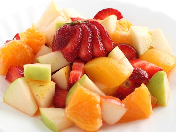 Awesome honey-chilly fruit salad  recipe