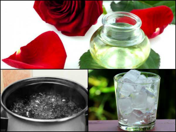 How to prepare rose water a home