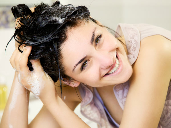 Natural shampoos for healthy hair growth