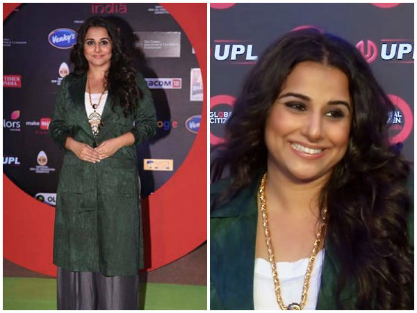 Vidya Balan at Global Citizen Festival India 2016