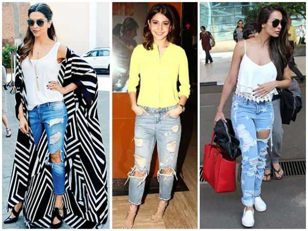 This Is How Bollywood Divas Rocked Distressed Jeans
