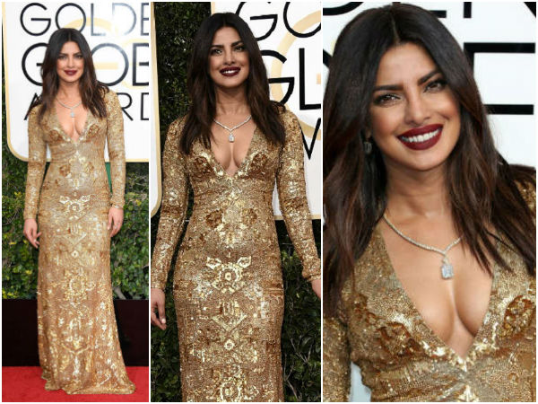 Priyanka Chopra Makes Her Golden Globes Debut & Stuns Everyone