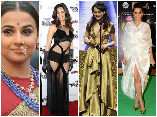 மிகவும் மோசமான ஃபேஷன் சென்ஸ் கொண்ட பாலிவுட் நடிகைகள்!