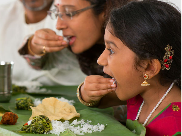 Reasons for eating food on banana leaf