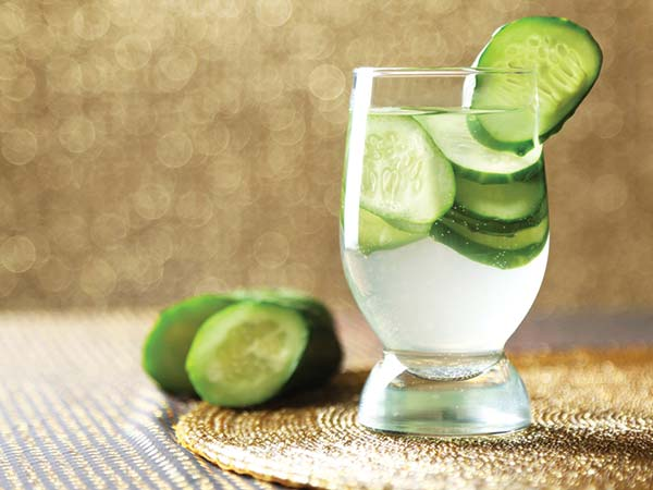 Cucumber water recipes and their health benefits