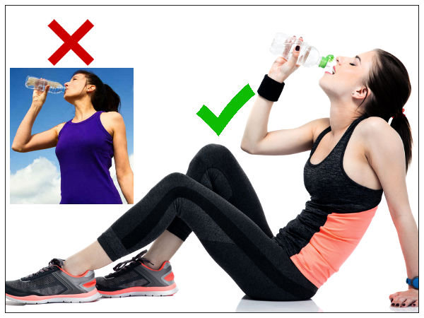 Disadvantages Of Drinking Water Whilst Standing Or Walking